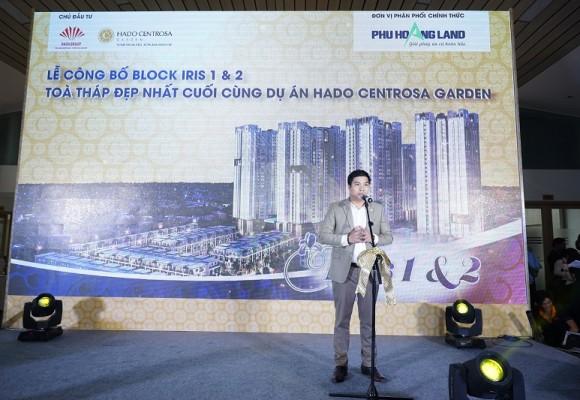 Lễ Công Bố Block Iris 1 & 2 : Tòa tháp đẹp nhất cuối cùng dự án HaDo Centrosa Garden