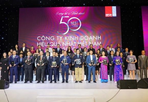TẬP ĐOÀN HÀ ĐÔ ĐƯỢC VINH DANH TRONG TOP 50 CÔNG TY KINH DOANH HIỆU QUẢ NHẤT VIỆT NAM 2020